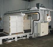 Vacuum packaging line 1,5 m³