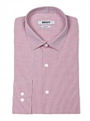 Men's Slim Fit Checked Dress Shirt DKNY