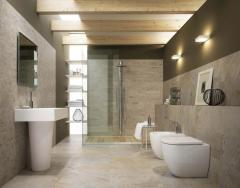 Carrelages de salle de bains Léa