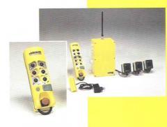 Télécommande radio industrielle sécuritaire à