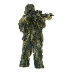 Ensemble Ghillie suit anti-fire