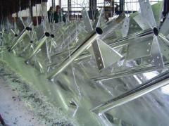 Metal stuctures