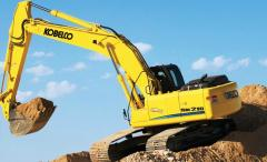 Construction equipment  used