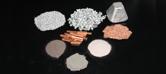 Granulated metal