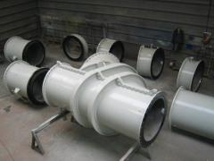 Double walled pipes