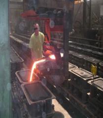 Nodular cast iron molding