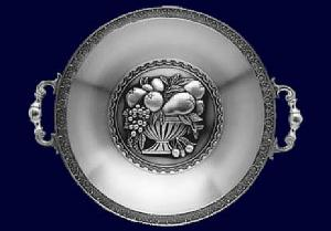 Moulded table dish