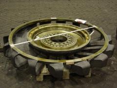 Excavating wheel