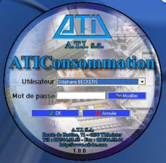 Fuel tanks control software ATIConsommation