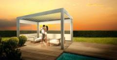 Abri de terrasse régulateur de soleil