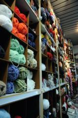 Les fils à tricoter