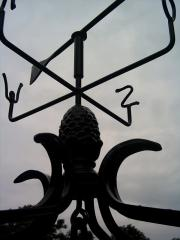 Forged weather vanes