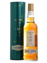 Whisky écossais  Glen Scotia 12 ans