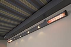 Système d'éclairage pour stores bannes