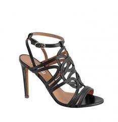 Sandales en veau noir - Art 63211