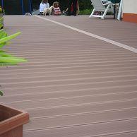 Plancher de terrasse sur mesure