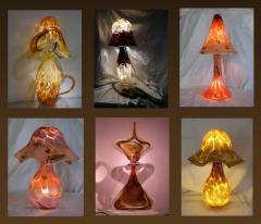Luminaires - Pâte de verre