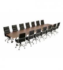 Table de réunion + 14 chaises