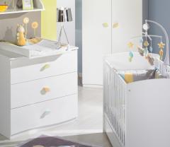 Meubles de chambre bébé - chambre à coucher nature