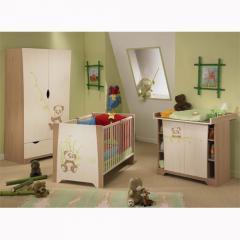 Meubles de chambre bébé - Chambre à coucher Nathan