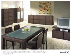 Salle à manger Plano de DD Furniture - fabrication belge