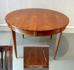 Tables de Salle à Manger - 0TA12-hb Table ronde 120 Directoire merisier