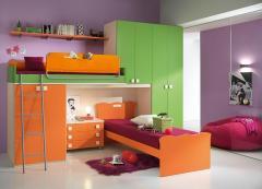Meubles de chambre à coucher Enfant - Chambres enfant One - Proposition 102