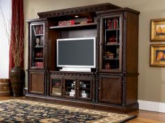 Furniture - Entertainment Centers - Wall-units - Ref: A01