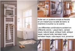 Meubles de salle de bain - Le système modulaire Butler