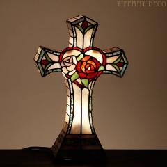 Lampes tiffany : croix II