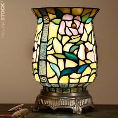 Belle Lampe tiffany Coupe 7811