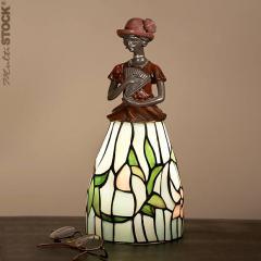 Belle Lampe tiffany : Femme