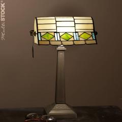 Lampe de bureau tiffany art-déco