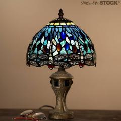 Lampes tiffany petites: Libellule Grand