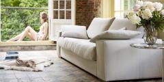 Canape en tissu