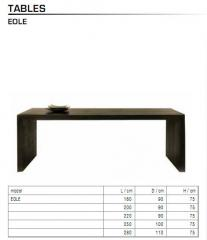 Table Eole