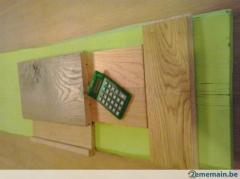 Les parquets chêne , planchers , plinthe.