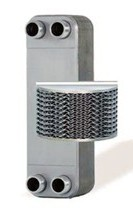 Echangeur thermique à plaques brasées par fusion