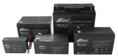Totally maintenance free AGM batteries for clean