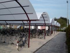 Abris pour bicyclettes