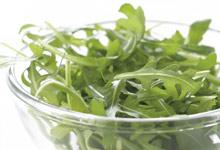 Salades de légumes à feuilles