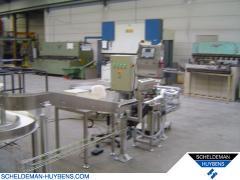 Manufacturing Packaging line for coffeepads