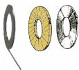 Feuillards acier de type rw avec bords ébavurés :
