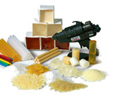 Consumables for construction of wooden houses