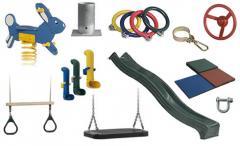 Composants pour jeux de plein air