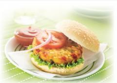 Veggie Burger Lutosa Food Service