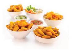Frozen prefried potato specialities