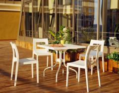 Chaise Lucca table forza pliante