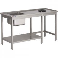 Table pour lave-vaisselle avec tablette