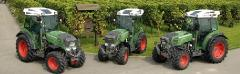 Tractors for viticulture